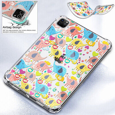 Tablet Case Clear Pattern Soft TPU Back Cover For IPad 10.2 2020 Pro 12.9 2020  • 11.42£