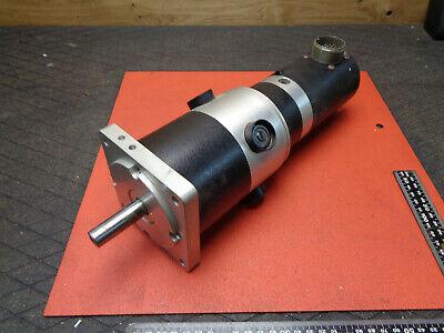 Large DC Motor Permanent Magnet Servo With Tacho 3000RPM 80V 220W H11EV02 • 70£