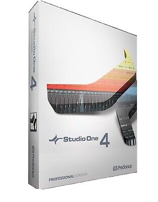 PreSonus Studio One Professional V4.6.1.55987 Full Version • 65£