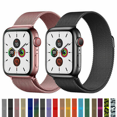 AU13.99 • Buy Milanese Loop Band Iwatch Strap For Apple Watch Series 6 5 4 3 2 1 38 42 40 44mm