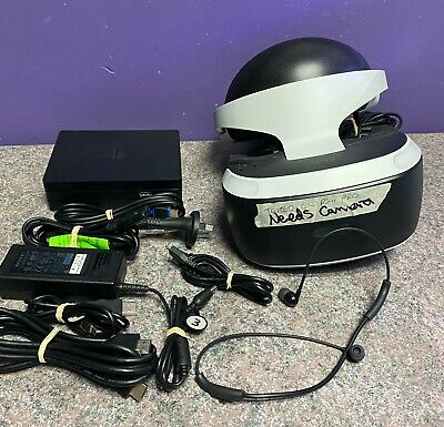 AU169.95 • Buy Sony Playstation 4 VR Headset Tested Working