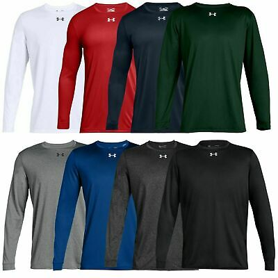 $21.61 • Buy New With Tags Men's Under Armour Gym Muscle Crew Long Sleeve Tee Shirt Top