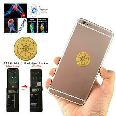 EMF Protection 5G Blocker Anti Radiation Mobile ,Laptop Sticker Quantum Scalar  • 2.99£