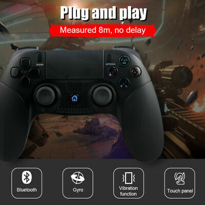 AU43.99 • Buy Wireless Bluetooth Game Controller Dual Vibration Gamepad DualShock For PS4 PS3