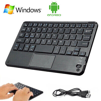 $15.69 • Buy Mini Wireless Bluetooth Keyboard Touchpad For Android IOS Windows Tablet PC Mac