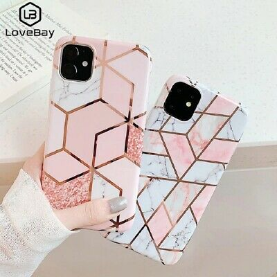AU4.74 • Buy Case For IPhone 11 XR XS MAX SE 2020 8 7 ShockProof Marble Phone Cover Silicone
