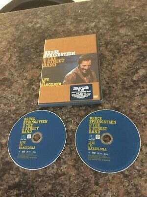 Bruce Springsteen - Live In Barcelona Double Dvd Set Great Condition  • 1.50£