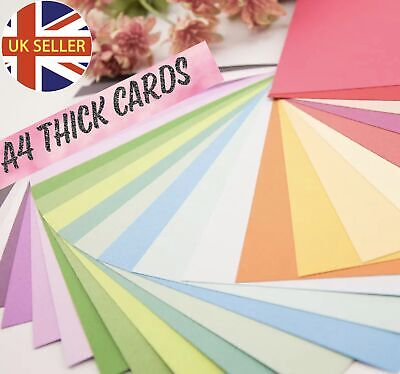 £8.69 • Buy A4 Coloured Craft Card 260 Gsm - Choose Colour And Pack Size Free P&P UK