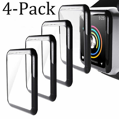 $ CDN6.73 • Buy For Apple Watch  IWatch 38/40/42/44 Mm 1/2/3/4/5/6/SE Tempered Glass Protector