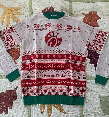 $120 • Buy Chick-fil-a Holiday Christmas Sweater