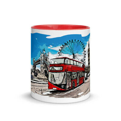 London Coffee Mugs Ideal For London Souvenirs Or Gifts • 16.09£