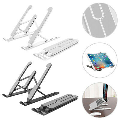 Portable Laptop Stand Foldable Base Stand Holder For Apple Macbook HP Dell - UK • 9.41£