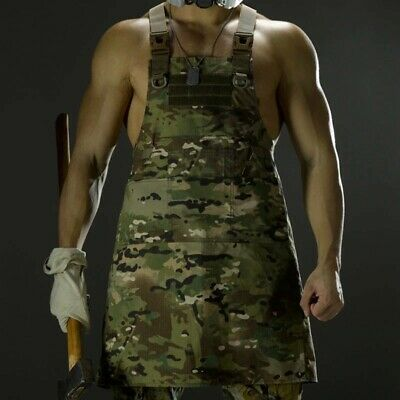 $58.43 • Buy Outdoor Tactical Sleeveless Vest Unisex Camouflage Apron Camping Hunting Cloth