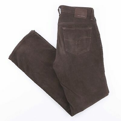 Vintage LEE COOPER Brown Straight Fit Men's Corduroy Jeans W32 L34 • 24.95£