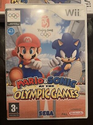 Mario & Sonic At The Olympic Games Beijing 2008 - Nintendo Wii • 6.25£