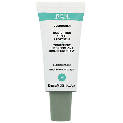 REN Clean Skincare Face ClearCalm 3 Non-Drying Spot Treatment 15ml • 10.95£