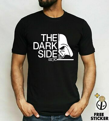*CLEARANCE* Star Wars Darth Vader T-shirt Funny The Dark Side Yoda Unisex S - L • 9.99£