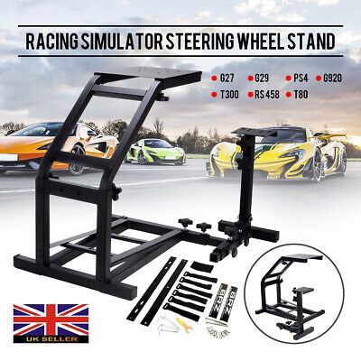Racing Simulator Steering Wheel Stand GT Model Gaming For G29 G920 T300RS T80 • 39.99£
