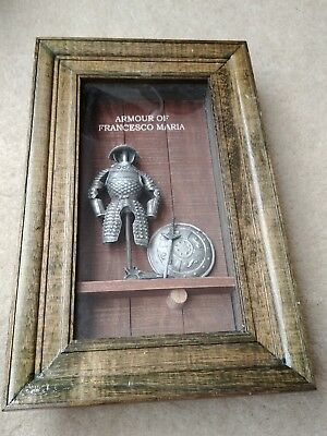Medieval ARMOUR OF FRANCESCO MARIA 3D Picture Frame • 18.19£