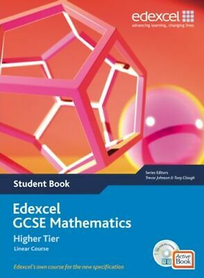 Edexcel GCSE Maths 2006: Linear Higher Student Book And Active Book With CD BNEW • 55.50£