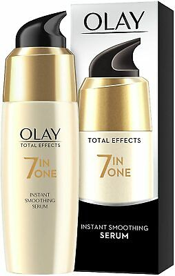 AU18.04 • Buy Olay Total Effects 7-in-1 Anti-Ageing Instant Smoothing Serum With Niacinamide,