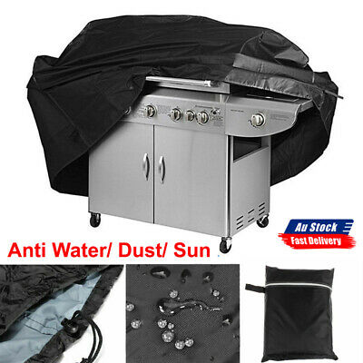 AU17.99 • Buy BBQ Cover 4 Burner Weather Proof Tear Resistant 170cm Outdoor Grill Protector AU