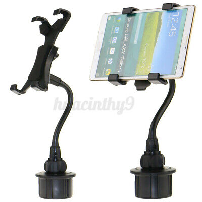AU20.99 • Buy Car Cup Holder Mount For 7''-10'' Tablet For IPhone For IPad For Samsung Galaxy