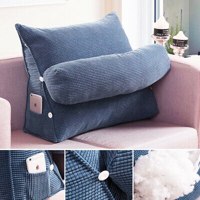 AU27.67 • Buy Bed Chair Sofa Office Rest Neck Back Support Wedge Cushion Pillow Adjustable