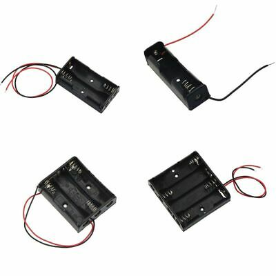 AU9 • Buy AA Size Power Battery Storage Case Box Holder Leads With 1 2 3 4 Slots Four