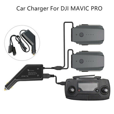 AU31.89 • Buy Intelligent Car Charger Adapter 3 In 1 Battery Charger For DJI Mavic Pro Drone