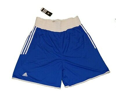 £9.99 • Buy BNWT ADIDAS RED / BLUE BOXING / GYM SHORTS - Size Small