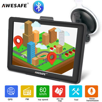 AU79.99 • Buy Junsun 7'' Truck Car GPS Navigation Bluetooth Navigation Free Australia Maps