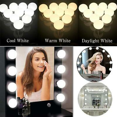 Hollywood LED  Vanity Mirror Lights Kit Dimmable Bulbs For Makeup Dressing  • 17.16£