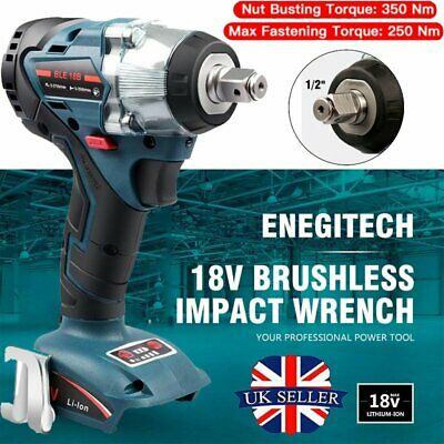 Makita DTW285Z 18V LXT Li-ion Cordless 1/2  Square Impact Wrench Body Only UK • 63.89£