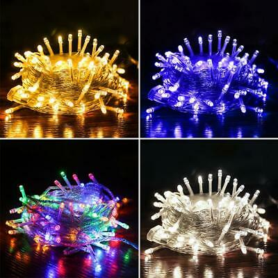 Decorative Fairy String Lights 30M 300 LED Outdoor Party Christmas Xmas UK STOCK • 9.99£
