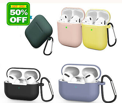 AU5.58 • Buy For Apple AirPods 2 1 Pro Case Cover Silicone Protective Skin