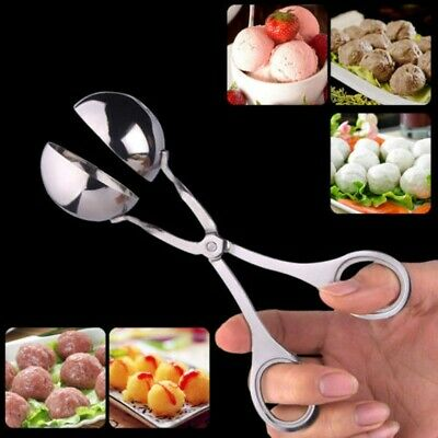 AU10.99 • Buy Meatball Maker Meat Baller-Kitchen Non Stick Spoon Stainless Steel Thick AU