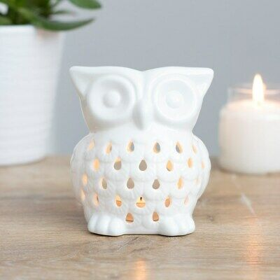 White Owl Oil, Wax Melt Burner, Gorgeous,  Gift For Any Occasion, Mothers Day • 6.49£