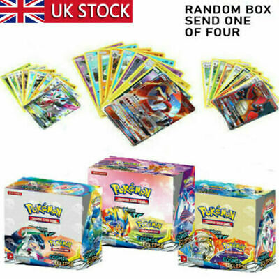 324PCS/36 Pack For Pokemon Cards Bundle SUN MOON Booster Box Edition Break Gifts • 13.99£