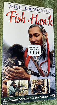 $ CDN10.85 • Buy Fish Hawk (VHS, 2002) Will Sampson - An Indian Survives In The Savage Wild