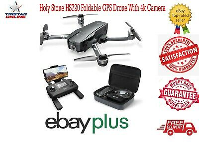AU379 • Buy Holy Stone HS720 Foldable Drone With 4K HD Camera GPS Quadcopter With Case - AU