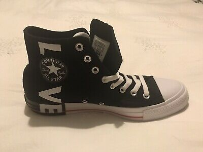 Black Converse Special Edition Size Uk 9 • 60£