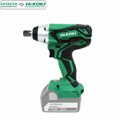 HiKOKI Hitachi WR18DJL 18V Cordless 1/2 Battery Metal Scaffolding Impact Wrench • 75£