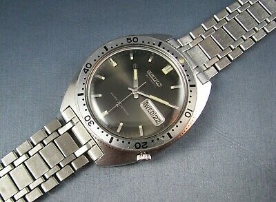 $ CDN1040.73 • Buy Vintage Seiko Stainless Steel Automatic Diver Mens Watch  17J 6106 8100