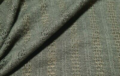 £3.99 • Buy  Knit Jersey Fabric  Figured Stripped Thin- Sold By The Metre