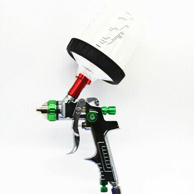$ CDN81.08 • Buy 1.3mm Nozzle Auto Feed Paint Spray Gun W/Adapter PPS Tank Fit For Car Truck SUV