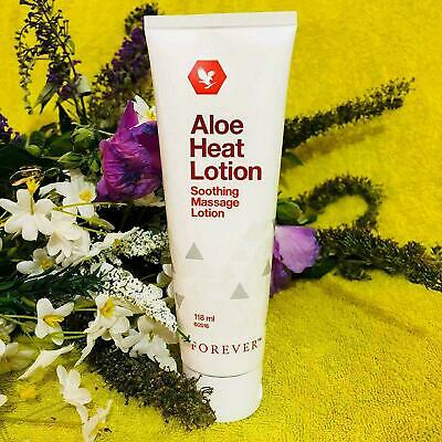 £18.99 • Buy FOREVER LIVING ALOE HEAT LOTION SOOTHING MASSAGE LOTION AFTER SPORTS, 118ml