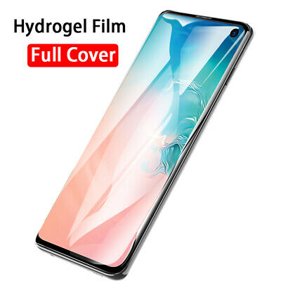 AU3.75 • Buy Hydrogel Film For OnePLus 6T 7T 8T 7 8 Pro Full Cover Soft Screen Protector Film