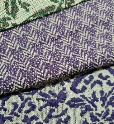 £4.49 • Buy Figured Stretch Knit Jersey Fabric  (thick Like Ponte)  - Sold By The Metre