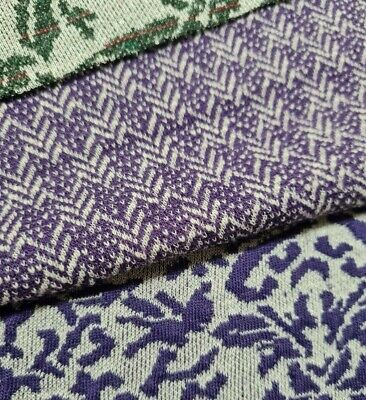 Figured Stretch Knit Jersey Thick (ponte) Fabric - Sold By The Metre • 7.65£